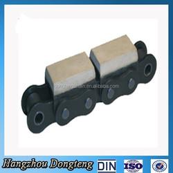 cheap popular Roller Chain With Vulcanised Elastomer Profiles sample