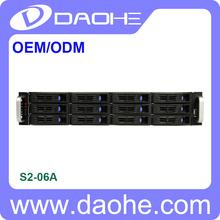Chasis de almacenamiento servidor en rack 2U 12bay