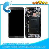 New For Samsung Galaxy Note III 3 Grey LCD Display Digitizer Touch Screen Assembly