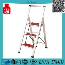 Wood Pedals Stepladder Functions Step ladder