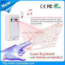 High technology virtual keyboard for mobile phone support long time working magic cube virtual laser keyboard.infrared keyboard