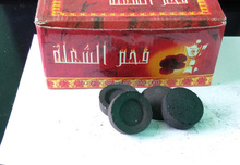 pure hardwood material long burning hookah charcoal