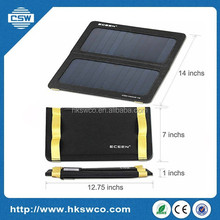 Solar Mobile Phone Charger 6.5w Mobile Solar Charger Solar Bag for Charging Computer and Mobile Phone
