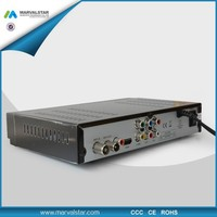 New satellite receiver with internet connection 220mm DVB-T2 Receiver with HD for Europe market