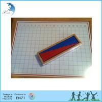 montessori teaching tools European standard wooden montessori toy
