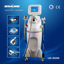 Guangzhou OSANO Beauty Slimming Product for sale LM-S500K / Velashape vacuum rf rollers + Cavitation liposuction / facial & body