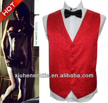 Mens Polyester Hot Sale Formal Vest