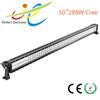 50inch 288W Off raod car vehicle led light bar 4x4 driving light, 12V 24V 6000K off road led Double row , 12 volt led light bar