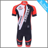 Wholesale Quick Dry Polyester Short Sleeve Cycling Jersey