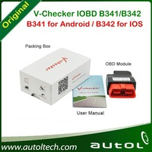 V-Checker IOBD B341/B342: Real time display vehicle information: Speed, RPM, Instant fuel consumption, Intake air pressure,