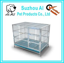 Strong Foldable Stainless Steel Large Dog Cage