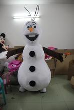 Mutlu gökyüzü oyuncaklar!!! Snowman olaf maskot kostüm