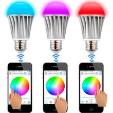 7w Equivalent Soft White 3200k 120 Emitting Angle Dimmable LED Light Bulbs 500 Lumens Led Bulbs