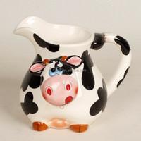 cute cow ceramic jug