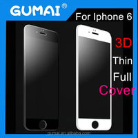 Anti-Glare HD Clear Crystal 9H Anti Scratch Anti Impact full body tempered glass screen protector for iPhone 6