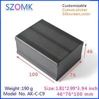 2015 new aluminum box extrusion enclosure for electronics control box