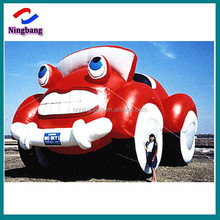 NB-CR2022 Ningbnag high quality cut red giant inflatable cartoon car for sale