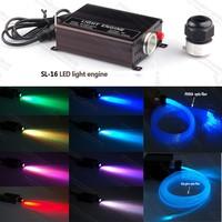 16W RGB LED fiber optic light generator engine for modern ceiling lights
