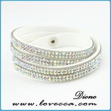 New Arravial !!! 2014 hot sale pretty a class stone bracelet wholesale