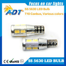 brand auto LED bulbs canbus no error SS 5630 chips super white blue green amber red yellow FOR bmw for benzs for audi