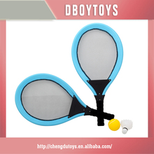 PVC tube sports toy head tennis racket with ball in window box EN-71/6P/ASTM