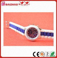 Women's Geneva Silicone Band Jelly Gel Quartz Wrist Watch