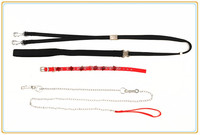 2014 dog metal chain dog metal collar and lead