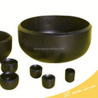HOT SELL ASTM WPB A234 ANSI B 16.9 STEEL PIPE CAP-ansi b16.9 bw carbon steel caps