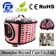 New Arrival foldable cat carrier, luxury cat carriers