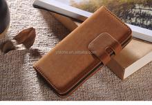 Luxury flip wallet case detachable wallet leather case for iphone 5