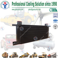 Trust and Mocal Style Universal Aluminum Engine Transmission Oil Cooler, universal oil cooler selling as hotcake