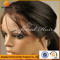 Preferred Hair kinky straight human hair full lace wigs buy china retail