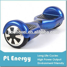 Two-wheel Scooter Self Balancing Smart Wheel - With Safe Speed 12 Km/h Riding with Remote Controller Free Fast Delivery(blue)