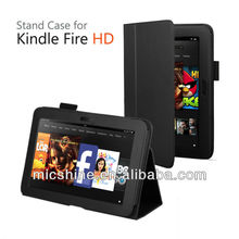 stock kindle fire hd 7 stand leather case cover for Amazon kindle fire hd 7 2012