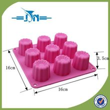 2015 hot sale silicone ice cube tray with lid