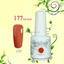 2015 Caixuan Wholesale Professional soak off gel polish, Uv gel, color gel polish