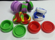 Non-stick Concentrate Storage Silicone Container Jar dab wax container