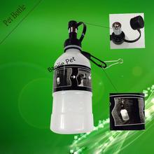 350ml Carry Plastic Pet Drinking Bottle /Portable Pet Dog Drinking Bottle