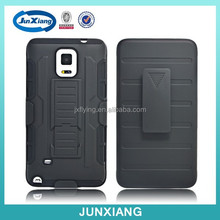 Alibaba-express 3 in 1 robot cell phone case for Samsung Galaxy Note 4 with kickstand