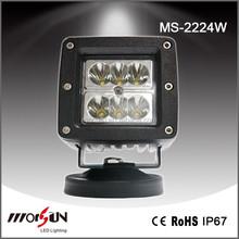 High Power 24w offroad led work lamp, flood 24w led work lamp, 24 led worklight 12v