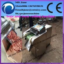 Pollo automática de hueso de cerdo y carne de corte de la máquina para la venta( skype: junemachine)