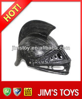Plastic medieval antique roman helmets with different design of mask for kids