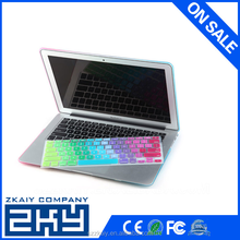 """2015 thirteen gradient color computer keyboard covers for mac pro 13"""",15""""17"""""""