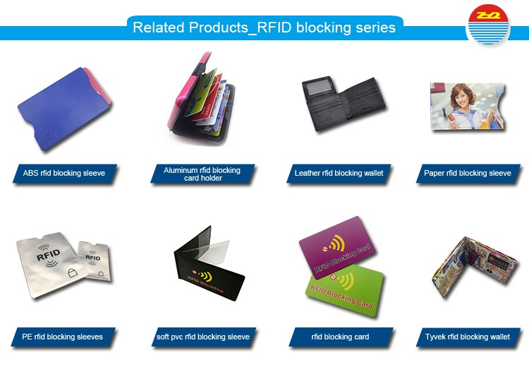 Related Products_RFID blocking series