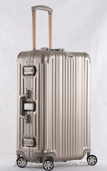 luggage, aluminium trolley pilot case, durable and innovative