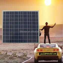 High quality 50W poly solar panel photovoltaic sun panel