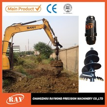 tree planting machine earth drill tractor mounted auger