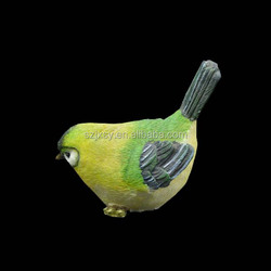 Resinic Animal Figurines Wholesale Bird Toys For Decoration