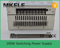 S-200-24 8.3A single output 200W nice 24v 8a switching power supply 200w 24v