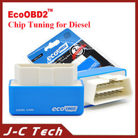 2015 Free Shipping EcoOBD2 Diesel Car Chip Tuning Box Plug and Drive OBD2 Chip Tuning Box Lower Fuel and Lower Emission in stock